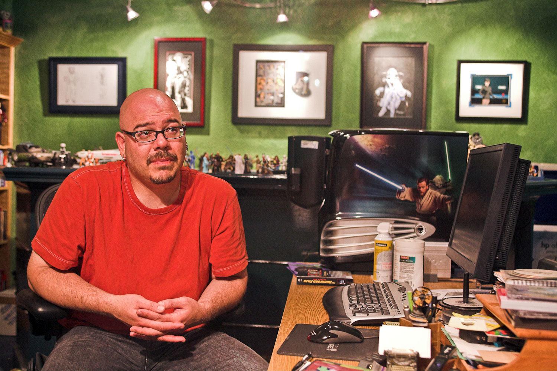 Portland Author Greg Rucka Oregon Editorial Photography