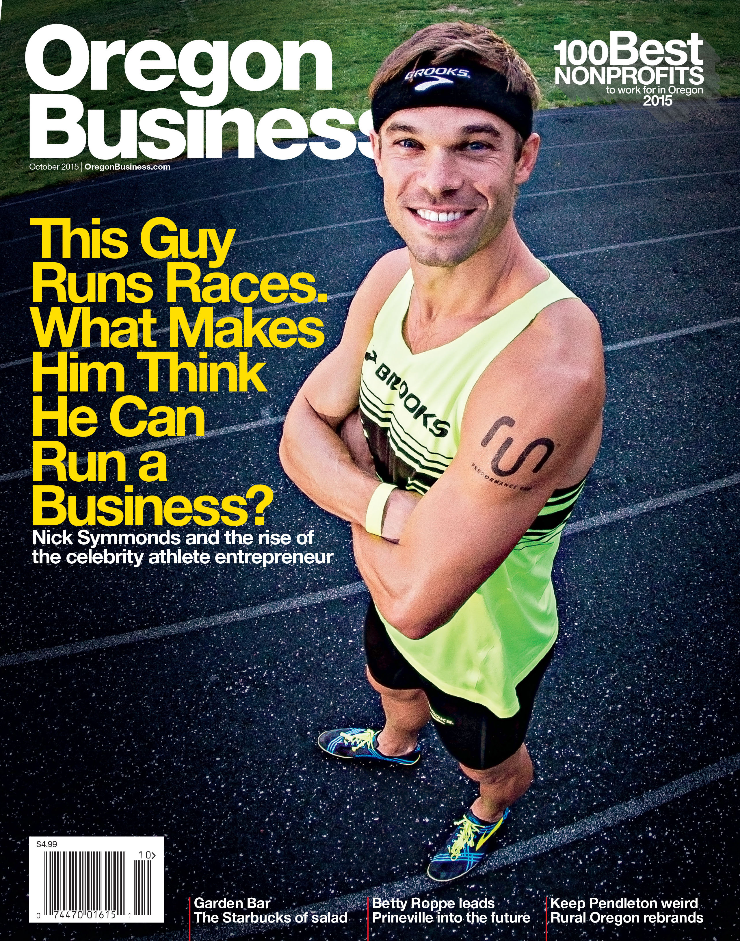 Oregon Business Cover October 2015