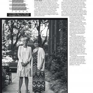 Kathy Gunter and Deborah John environmental portraiture