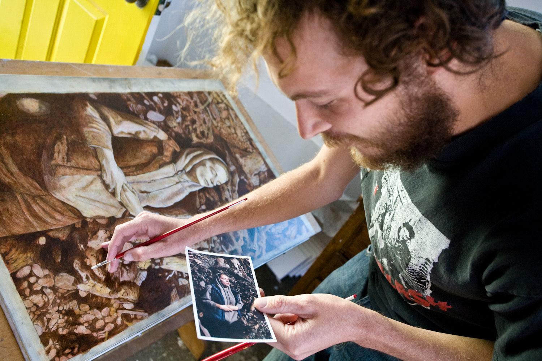 Benjamin Heiken Open Studios scholarship winner