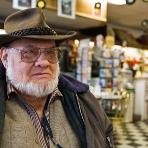 Bob Sauter of St. Johns at Patties's Home Cafe