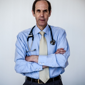 Portrait of Dr. Druker, Director of Knight Cancer Center