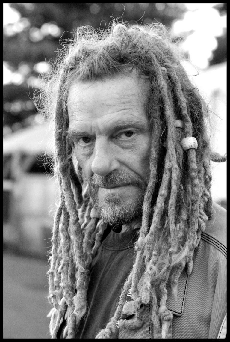 portrait of Portland Dignity Village Co-Founder Jack Tafari
