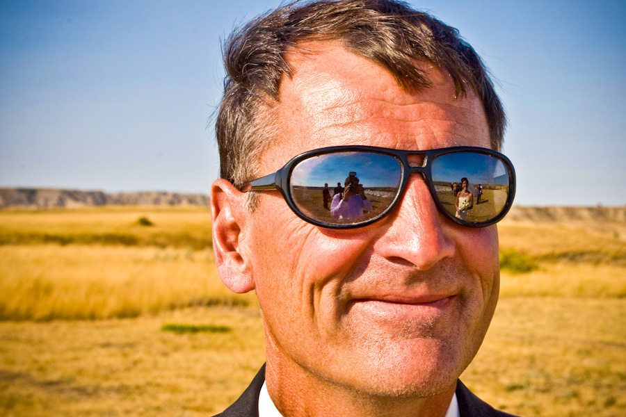Man Smiling with Sunglasses