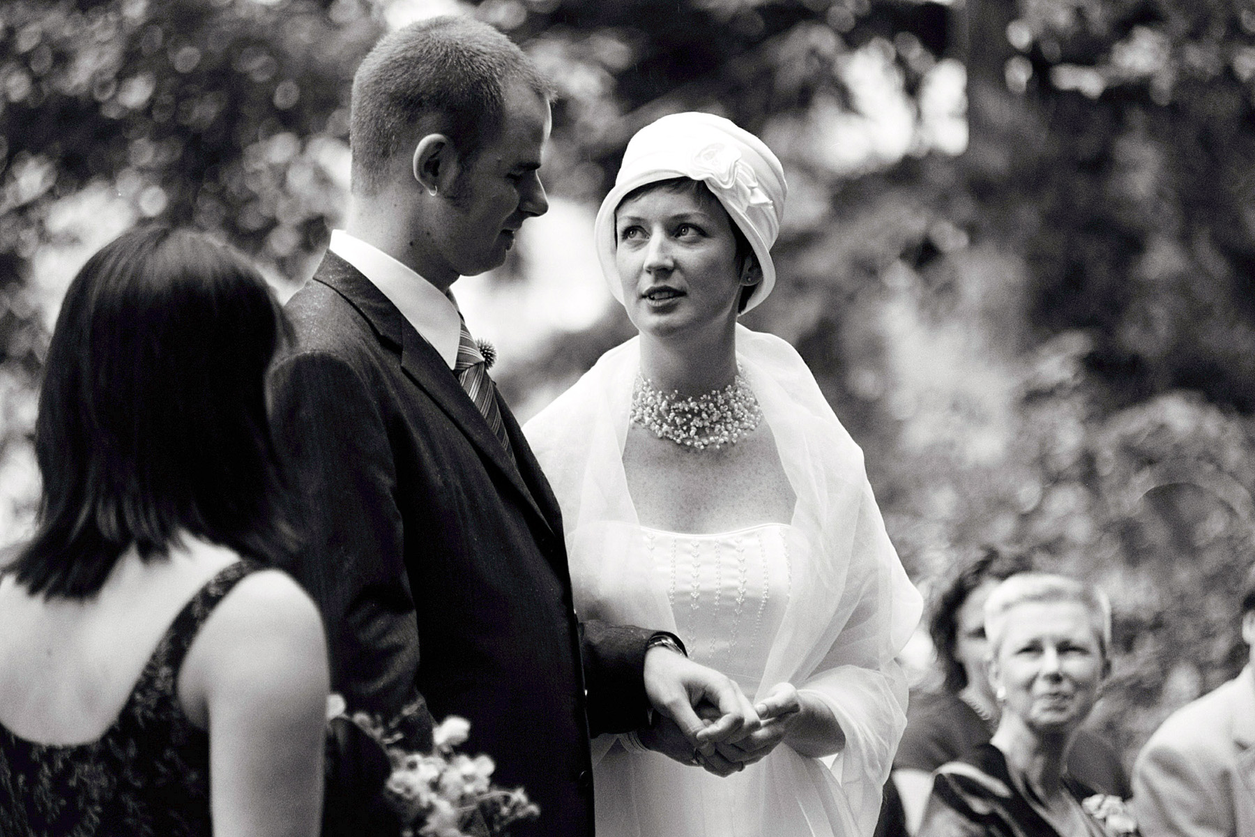 portland wedding ceremony exchange vows