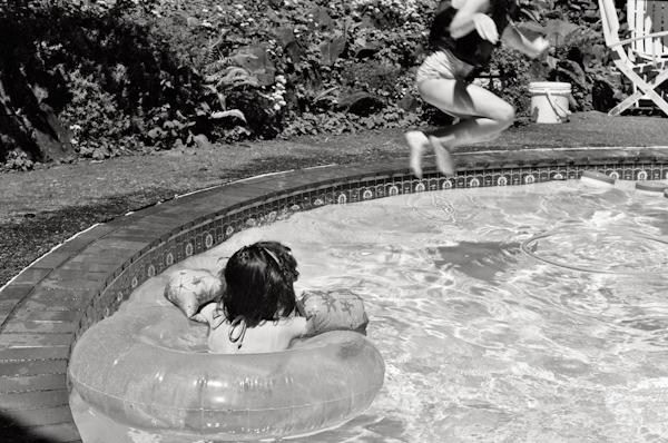 Anika Swimming