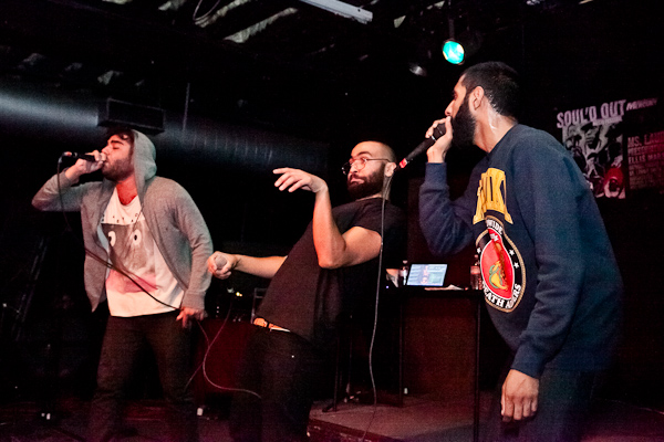 Das Racist playing live