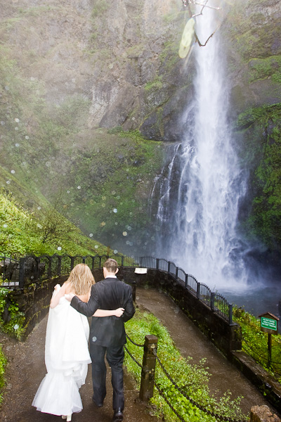 Multnomah Falls Elopement 3