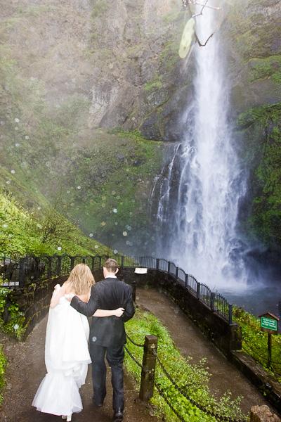 Multnomah Falls Elopement 3