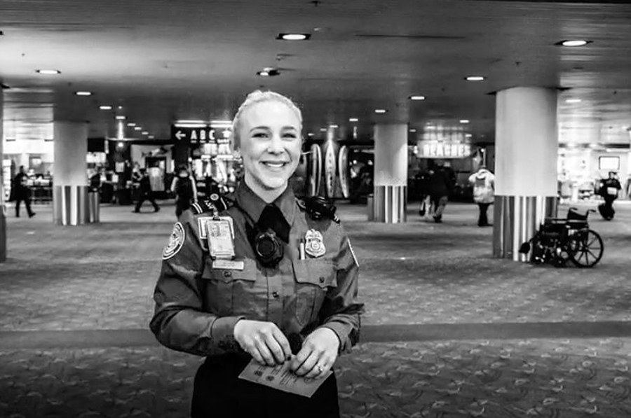 Francesca Becker-PDX TSA Officer